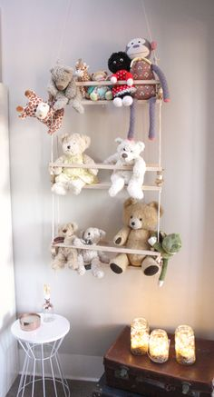 Introducing the perfect solution for soft toy storage. Add a little character to your little one's room with this soft toy swing made from 100% up-cycled timber. The swing seats are made from up-cycled pine, while the geometric beads are individually hand made from up-cycled Rimu and Pine.