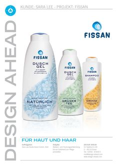 "Packaging Design ""Fissan"" Duschgel/Shampoo"