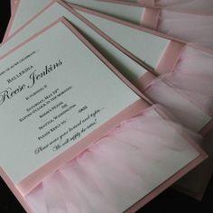 ballet invitations
