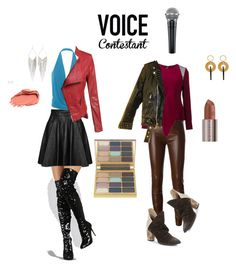 """""""#TheVoice #YahooView"""" by kelly-haven-russell ❤ liked on Polyvore featuring Jeremy Scott, Jitrois, Roland Mouret, Free People, Jules Smith, Marni, Stila and Urban Decay"""