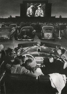 Date Night at the Drive-In Movie