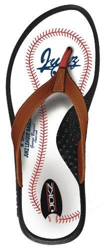 AwesomeNice Baseball Flip Flop