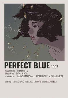 Wallpaper Animé, Satoshi Kon, Poster Anime, Anime Suggestions, Anime Titles, Blue Anime, Anime Watch, Anime Recommendations, Blue Poster