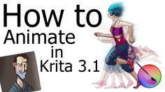 How to Animate | Krita 3.1(Update)
