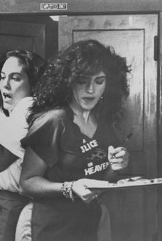 The Oscars Of Deliciousness: 10 Best Movie Food Scenes + Win A Meal On Us #refinery29  http://www.refinery29.com/2013/02/43375/best-food-movies#slide6  Mystic Pizza If consisting on a regular diet of pizza made you look like Julia Roberts, we'd get rid of our kale smoothies any day. But, as Jane Krakowski found out on 30 Rock, that's not the case.  Photo courtesy of The Samuel Goldwyn Company.