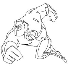 trail etiquette coloring pages | Top 10 'The Incredibles' Coloring Pages Your Toddler Will ...