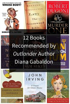 12 Books Recommended by 'Outlander' Author Diana Gabaldon