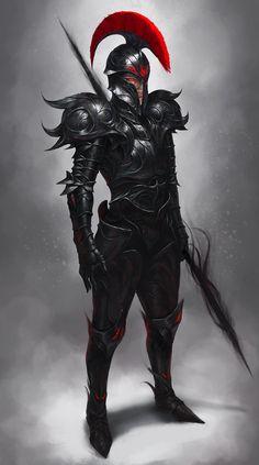 dark spear, SYAR . on ArtStation at https://www.artstation.com/artwork/dark-spear