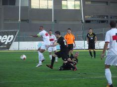 4ª Jornada de liga, visita del CD San Fernando de Henares a Matapiñonera que se resolvió con goleada de nuestros chicos 4 - 1