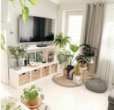 Boho Living Room, Cozy Living Rooms, Living Room Decor, Bedroom Decor, Dining Rooms, Bench In Living Room, Ikea Shelves Bedroom, Ikea Living Room Furniture, Furniture For Small Spaces