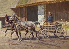 Zygmunt Rozwadowski - Wóz przed dworem