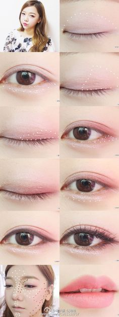 If your face provides extensive dried-out skin, try going to a beautician to get a powerful moisturizing treatment. This specialized treatment was designed to treat dry facial skin and provide a much more even appearance. Korean Natural Makeup, Korean Makeup Tips, Asian Eye Makeup, Korean Makeup Tutorials, Korean Beauty, Eyeshadow Tutorials, Eye Makeup Glitter, Makeup Eyeshadow, Korean Eyeshadow