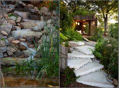 Melbourne International Flower & Garden Show (MIFGS) sustainability award & bronze medal winning garden, Bathe 2011 #gardens #melbourne #green