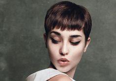 http://professional.estetica.it/ Hair: Angelo Seminara  for Davines  Photo: Andrew O'Toole  Make-up: Anita Keeling  Styling: Georgie Macintyre  Products: Davines