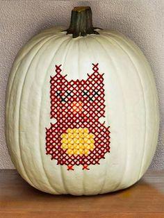 My Owl Barn: Owl Jack-O-Lanterns To Inspire