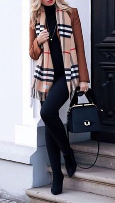53 Cute Womens Fashion Outfits Ideas - Mode Tipps - Best Of Women Outfits Mode Outfits, Stylish Outfits, Classy Fall Outfits, Spring Outfits, Autumn Outfits, Look Fashion, Autumn Fashion, Feminine Fashion, Cheap Fashion