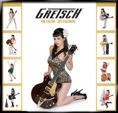 Gretsch Kim Falcon calendar