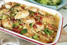 Kyllingform med poteter og asparges | Fru Timian | Bloglovin'