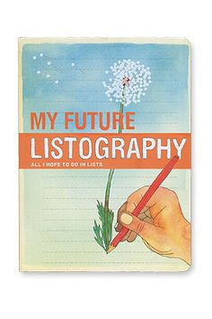 """Future Listography"" Buch"