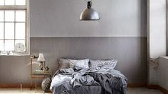 Ready for the best bedroom decor ideas? We believe that your bedroom can be a much better place if you choose the best lighting solution possible. Dream Bedroom, Home Bedroom, Bedroom Decor, Bedroom Ideas, My Living Room, Living Spaces, Basement Master Bedroom, Industrial Bedroom Design, Home And Deco