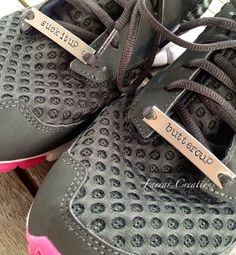 Runners Shoe Tags Shoe ID Tags Motivation by FarrarCreations, $20.00//