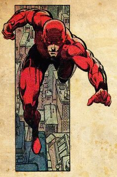 Daredevil #Marvel #comic by Frank Miller . For more images follow pyra2elcapo
