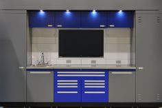 GL NEOS Elite Cabinets | Garage Cabinet System