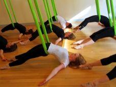 29 best restorative aerial yoga images  aerial yoga yoga