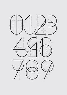 Creative Design, Graphic, Numerograf, Yorokobu, and Behance image ideas & inspiration on Designspiration Typography Letters, Typography Logo, Graphic Design Typography, Graphic Design Illustration, Hand Lettering, Logos, Number Typography, Logo Desing, Typography Images
