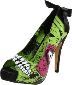 Iron Fist Women's Zombie Stomper Platform Pump,Green/Black,8 M US Iron Fist http://www.amazon.com/dp/B005QBBILI/ref=cm_sw_r_pi_dp_X1TXtb1C6NNZ4BJK
