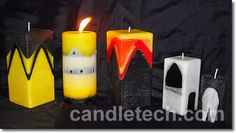 Draped Layer Candles – Candle Making Techniques