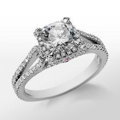 Monique Lhuillier Halo Diamond Engagement Ring...... $2750 doesn't even include the actual diamond ::::sigh, sad face::::