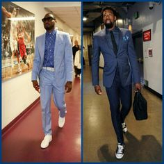 NBA stars showing off their #Style. #MensStyle #MensFashion #Menswear