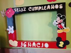 Marco Foto Mickey Mouse