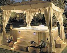 Backyard Hot Tub Dream