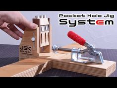 undefined Drill Jig, Router Jig, Kreg Jig Projects, Table Saw Jigs, Drill Guide, Pocket Hole Jig, Tools And Toys, Drill Press, Neodymium Magnets