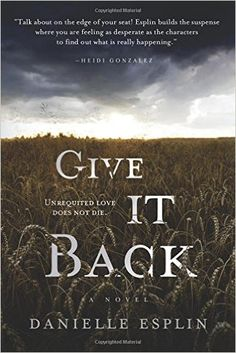 Today on my blog, the lovely Claire Knight has reviewed Give It Back by Danielle Esplin.  Synopsis: This novel follows three characters: Lorraine, Lexy, and Ella. Lorraine: Not long ago, Lorraine lost her husband to another woman. She thought that was …