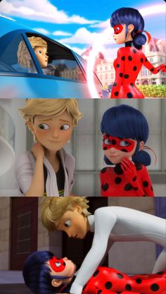 Miraclous Ladybug, Ladybug Comics, Adrian And Marinette, Marinette And Adrien, Miraculous Ladybug Wallpaper, Miraculous Ladybug Memes, Bts Rap Monster, Amy Rose, Kitty