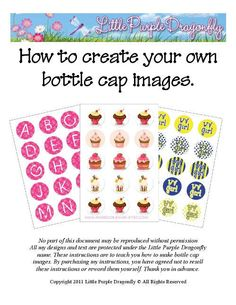 How To Create Your Own Bottle Cap Images With GIMP