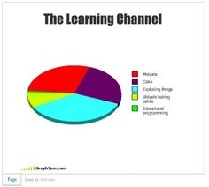 The Learning Channel Explained by GraphJam
