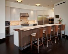 kitchen by Collaborative Design Group-Architects & Interiors http://www.houzz.com/photos/2789025/Sugarland-Canal-Residence-modern-kitchen-houston