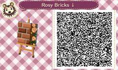 ACNL/ACHHD QR CODE-Rosy Brick Path
