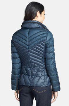 Main Image - Bernardo Two-Tone Packable Goose Down Jacket (Regular & Petite)