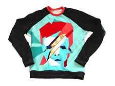 This zero waste shirt is the perfect tribute to the iconic David Bowie