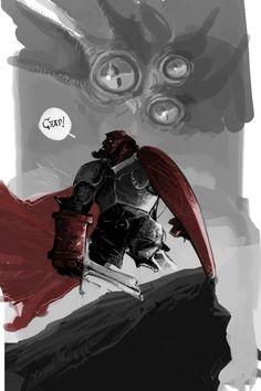 Medieval Hellboy