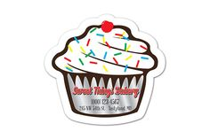 World's Greatest Magnets offers a useful, yet constant marketing tool for every home.  Consider the average person visits the refrigerator 10 times a day.  Customize the cupcake magnet with your contact information and be visible to everyone who passes by. #wgmagnets