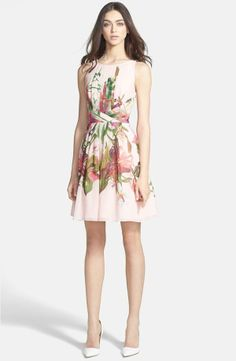 Perfect floral dress.