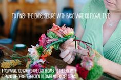How To: Make A Floral Crown A Practical Wedding: Blog Ideas for the Modern Wedding, Plus Marriage