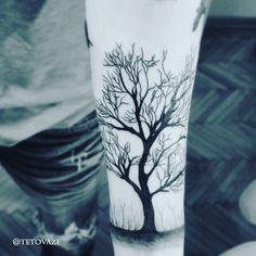 Tree tattoo men tattoo@Filip Jelic-Tattoo Portfolio Instagram @tetovaze Filip Jelic-Tattoo portfolio