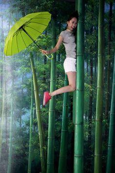Qingdao Korea Trick Art Exhibition in Qingdao, Shandong province, China, 3D, painting, show, Trick Art, photo: EPA